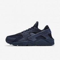 Nike Air Huarache Midnight Navy/Midnight Navy/Midnight Navy Mens Shoes