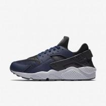 Nike Air Huarache Midnight Navy/Dark Ash/Cool Grey/Midnight Navy Mens Shoes
