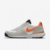 Nike Lavadome Ultra Stone Grey/Sail/Light Bone/Safety Orange Mens Shoes