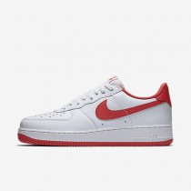 Nike Air Force 1 Low Retro Summit White/University Red Mens Shoes