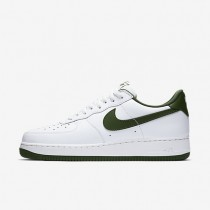 Nike Air Force 1 Low Retro Summit White/Forest Green Mens Shoes