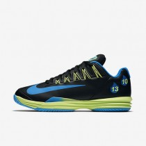 Nike Court Lunar Ballistec 1.5 Legend Black/Rage Green/Blue Glow Mens Tennis Shoes