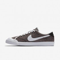 Nike All Court 2 Low Jacquard Black/Black/Action Red/White Mens Shoes
