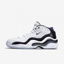 Nike Air Zoom Flight 96 White/Metallic Gold/White/Midnight Navy Mens Running Shoes