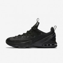 Nike LeBron XIII Low Black/Black/Anthracite/Reflect Silver Mens Basketball Shoes
