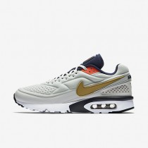 Nike Air Max 1 BW Ultra SE Pure Platinum/Midnight Navy/Metallic Gold Mens Shoes