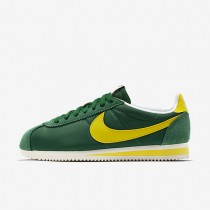 Nike Classic Cortez Nylon AW Pine Green/Sail Mens Shoes