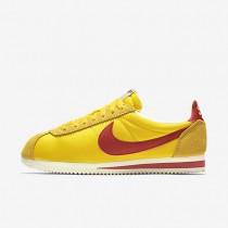 Nike Classic Cortez Nylon AW Varsity Maize/Sail/Varsity Red Mens Shoes