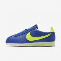 Nike Classic Cortez Nylon AW Varsity Royal/Sail/Volt Mens Shoes