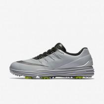 Nike Lunar Control 4 Wolf Grey/Black/Volt/Metallic Dark Grey Mens Golf Shoes