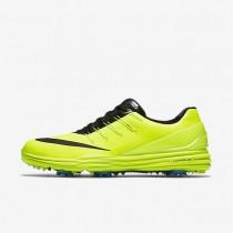 Nike Lunar Control 4 Volt/Photo Blue/Black Mens Golf Shoes