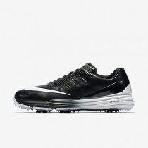 Nike Lunar Control 4 Black/Black/White Mens Golf Shoes