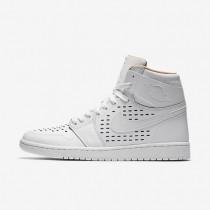Nike Air Jordan 1 Retro High White/Vachetta Tan/White Mens Shoes