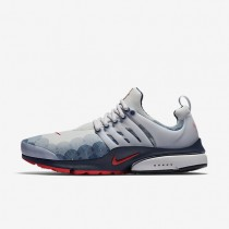 Nike Air Presto GPX Neutral Grey/Obsidian/Black/Comet Red Mens Shoes