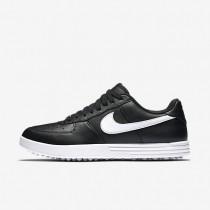 Nike Lunar Force 1 Black/White Mens Golf Shoes