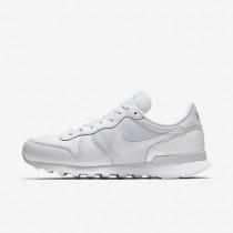 Nike Internationalist Premium White/Metallic Silver/Summit White/White Mens Shoes