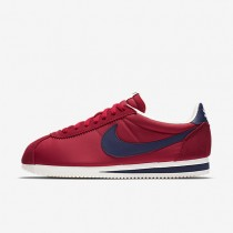 Nike Classic Cortez Nylon AW Varsity Red/Sail/Midnight Navy Mens Shoes