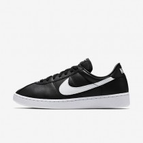 Nike Bruin Leather Black/Black/White/White Mens Shoes