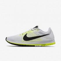 Nike Zoom Streak 6 White/Volt/Black unisex Racing Shoes