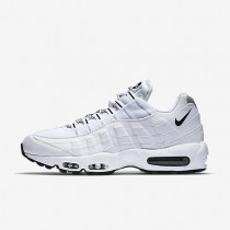 Nike Air Max 95 White/Black/Black Mens Shoes