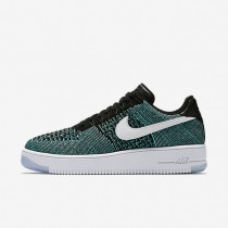 Nike Air Force 1 Flyknit Low Hyper Jade/Black/Hyper Turquoise/White Mens Shoes