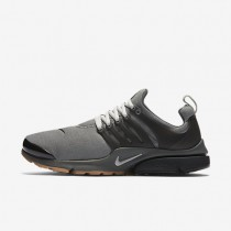 Nike Air Presto Premium Tumbled Grey/Dark Base Grey/Black/Granite Mens Shoes