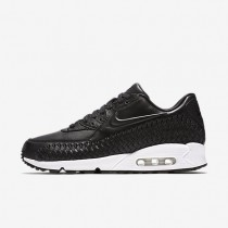 Nike Air Max 90 Woven Black/White/Black Mens Shoes