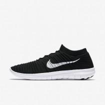 Nike Free RN Motion Flyknit Black/Volt/Dark Grey/White Mens Running Shoes