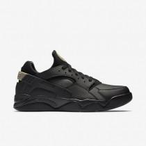 Nike Air Flight Huarache Low Black/Black/Anthracite/Black Mens Shoes