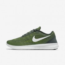 Nike Free RN Anthracite/Volt/Black/Off-White Mens Running Shoes