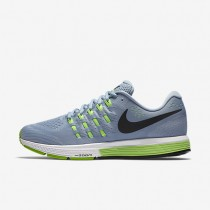 Nike Air Zoom Vomero 11 Blue Grey/Pure Platinum/Electric Green/Black Mens Running Shoes