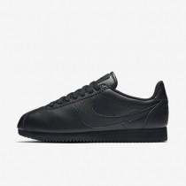 Nike Beautiful x Classic Cortez Premium Black/Black/Black Womens Shoes