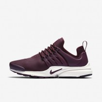Nike Air Presto Premium Night Maroon/Sail/Night Maroon Womens Shoes