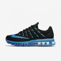 Nike Air Max 2016 Black/Deep Royal Blue/Blue Grey/Multi-Colour Womens Running Shoes