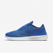 Nike Free RN Star Blue/Off White/Coastal Blue Womens Running Shoes