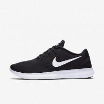 Nike Free RN Black/Anthracite/White Womens Running Shoes