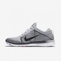 Nike Free TR 5 Flyknit White/Pure Platinum/Hyper Violet/Black Womens Training Shoes