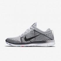 Nike Free TR 5 Flyknit White/Pure Platinum/Hyper Violet/Black Womens Training Shoes