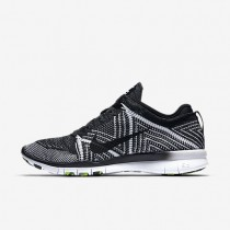 Nike Free TR 5 Flyknit Black/White/Volt/Black Womens Training Shoes