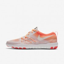 Nike Free TR Focus Flyknit Light Violet/Bright Mango/Peach Cream/Summit White Womens Training Shoes