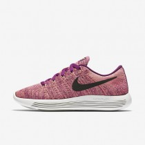 Nike LunarEpic Low Flyknit Bright Grape/Fire Pink/Peach Cream/Black Womens Running Shoes