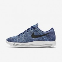 Nike LunarEpic Low Flyknit Dark Purple Dust/Star Blue/Bluecap/Black Womens Running Shoes