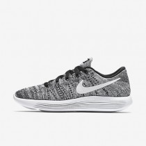 Nike LunarEpic Low Flyknit Black/White Womens Running Shoes