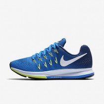 Nike Air Zoom Pegasus 33 Fountain Blue/Coastal Blue/Ghost Green/White Womens Running Shoes