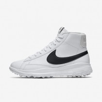 Nike Blazer White/Black Womens Golf Shoes