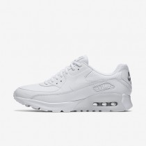 Nike Air Max 90 Ultra Essential White/Metallic Silver/White Womens Shoes