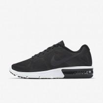 Nike Air Max Sequent Black/Wolf Grey/White/Metallic Hematite Womens Running Shoes