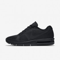 Nike Air Max Sequent Black/Black/Black Womens Running Shoes