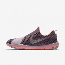 Nike Free Connect Purple Shade/Bright Mango/Plum Fog/Metallic Silver Womens Training Shoes