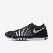 Nike Free Transform Flyknit Black/Wolf Grey/Dark Grey/White Womens Training Shoes